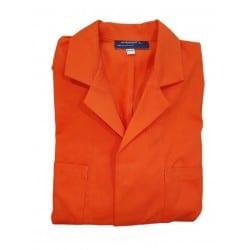 Sarrau de travail Orange 100% Coton