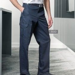 Pantalon de travail poches cargo velcro