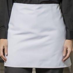 Tablier cuisinier Fourbe noir 4 côtés