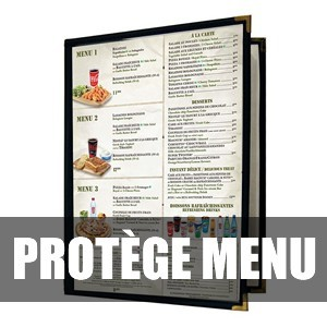 Couverture de menu