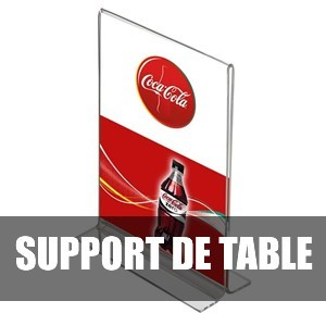 Porte menu de table