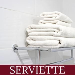 Serviette de Ratine