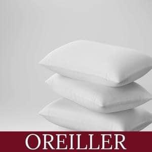 Taie et protecteur d'oreiller pour résidence