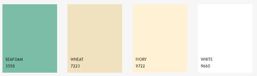 charte couleur napperons