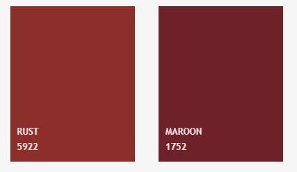 charte couleurs napperons